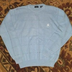 Izod Men's Sweater - Beautiful Light Blue -